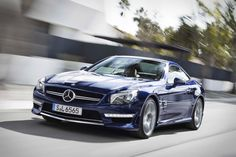 The 2013 Mercedes-Benz AMG convertible roadster debuts at this year's New York Auto Show and completes the SL-Class trinity, which includes the Mercedes-Benz and Mercedes-Benz AMG. Maserati, Lamborghini, Ferrari, Audi, Porsche, Mercedes Benz, Aston Martin, Cadillac, Jaguar