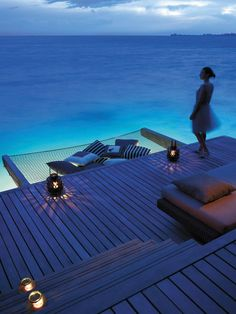 5 Star Shangri-La's Villingili Resort and Spa, Maldives.