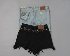 DIY: Trick Out Cutoffs (and More!) With Spikes and Studs | Miss KL Blog | Miss KL Blog #MissKL #MissKLCoachella