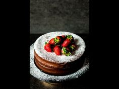Two Ingredient Chocolate Cake - | heinstirred.com - Food Photographer, Videographer & Stylist