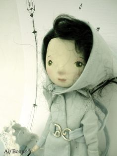 Raining Art Doll by Paola Zakimi