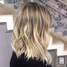 Image result for long bob com ombre hair