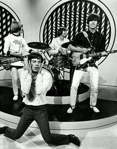 An early pic of the Rolling Stones; the greatest Rock Band in history!