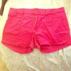 GAP Pants - Hot pink shorts
