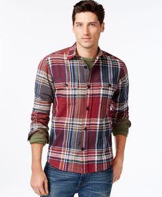 Tommy Hilfiger Ronstadt Plaid Shirt Jacket