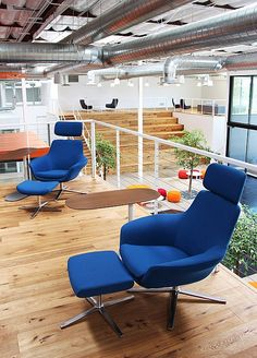 Take A Walk On The Wild Side: Clive Wilkinson Designs Fox Head's Office | Projects | Interior Design