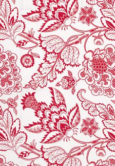 Maracanda Vine Fabric, Berry - Transitional - Upholstery Fabric - by Covered In Style Inc Fabric Patterns, Print Patterns, Batik Pattern, Indian Prints, Pattern Wallpaper, Paisley, Vines, Illustration, Groomsmen