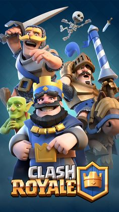 Enter the Arena! From the creators of Clash of Clans comes a real-time multiplayer game starring the Royales, your favorite Clash characters and much, much more. Collect and upgrade dozens of cards featuring the Clash of Clans troops, spells and defenses you know and love, as well as the Royales