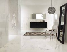 Porcelain stoneware wall/floor tiles with marble effect INNOVATIVE SLABS | Bianco Paonazzetto Innovative Slabs Collection by ARIOSTEA