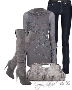 """Evening Out"" by orysa on Polyvore"