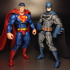 Superman (Worlds Finest) (DC Infinite Heroes) Custom Action Figure Dc Comics Action Figures, Dc Comics Characters, Custom Action Figures, Comic Character, Character Design, Batman And Superman, Spiderman, Gamers Anime, Funny Marvel Memes