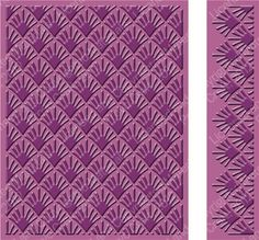 Cuttlebug PALM LEAVES Embossing Folder & Border  4.25 in X 5.5 in BRAND NEW #Cuttlebug