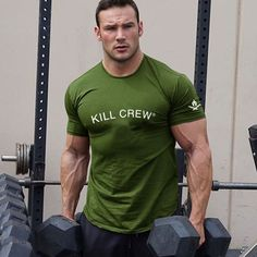 Casual T Shirts, Men Casual, Mens Clothing Brands, Men's Clothing, Mens Gym Shorts, Bodybuilding T Shirts, Mens Cotton T Shirts, Fitness Fashion, Fitness Clothing