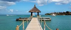 Take a walk along this gorgeous pier at the Maritim Hotel in Mauritius.