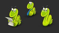 WERMZ, U.S. |  Logo - Character design & evolution