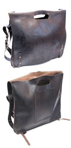 Maxim Sharov #bag #style #fashion #leather