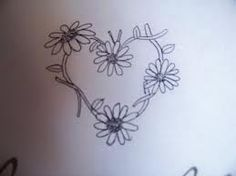 daisy foot tattoos - Google Search