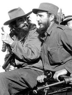 Camilo Cienfuegos and Fidel Castro. We had this photo at home in 1960 before my parents realized Castro was a communist.