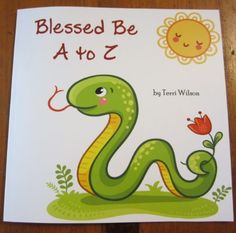 A new print poetry book about the alphabet for Pagan kids
