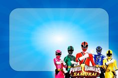 Montando a minha festa: Power Rangers Samurai