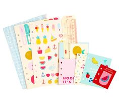 Loving the images of new Kikki K ranges! Good thing i have two planners :) Planner Dashboard Kit Large: Cute