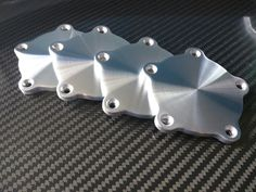 Billet Flat Center Caps For American Racing Torq Thrust