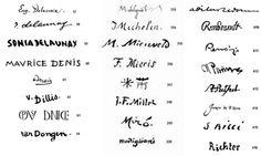 7 Best Artists Signatures Images Artist Signatures