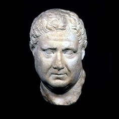 "Roman Marble Bust of a Man (Possibly Emperor Vitellius) - PF.0013 Origin: Mediterranean Circa: 100 AD to 200 AD Dimensions: 13.5"" (34.3cm) high x 7.75"" (19.7cm) wide Collection: Roman Style: Roman Medium: Marble  The sensitive rendering of this portrait makes it a masterpiece under any circumstances. Though Vitellius only reigned for a matter of months in the turmoil following the fall of Nero, this image of a plump, middle-aged man is consistent with his known portraits."