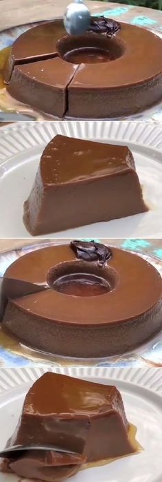 FLAN DE NUTELLA CASERO Mexican Food Recipes, Sweet Recipes, Cake Recipes, Dessert Recipes, Chocolate Flan, Chocolate Desserts, Köstliche Desserts, Delicious Desserts, Yummy Food