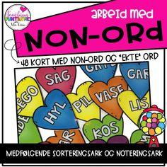 Lesing av non-ord Grade 1, Kos, Comic Books, Teaching, Comics, Cover, Learning, Comic Book, Education