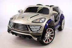 Porsche Cayenne Style 12V Kids Ride-On Car MP3, Battery Powered Wheels RC Remote
