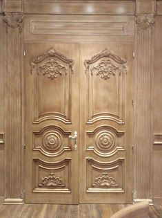 Wooden French Doors - January 01 2019 at