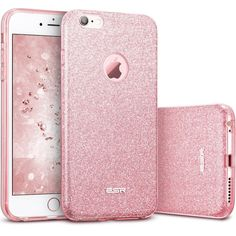 iPhone 6s Plus Case, iPhone 6 Plus Case, ESR Bling Glitter Back Cover Protective #ESR