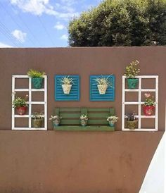 Idéias para usar janelas antigas na decoração 011 Mais