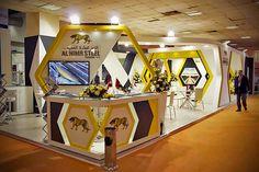 Al Nimr Steel at Metal & Steel Exhibition 2015 Egypt on Behance