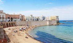 http://www.theguardian.com/travel/2014/apr/25/italy-puglia-salento-region The beach at Gallipoli, Puglia, Italy