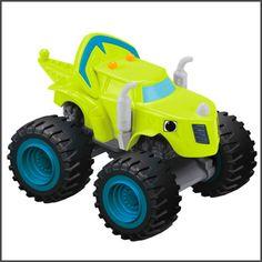 Blaze and the Monster Machine Toy Fisher-Price Nickelodeon Zeg Die-Cast Truck