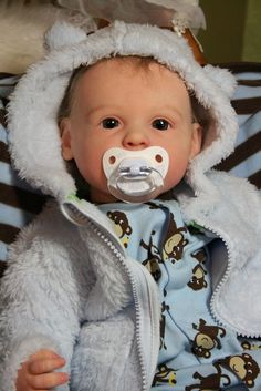 Малыш реборн Серафим из молда Gracie Ann Timmerman / Куклы Реборн Беби - фото, изготовление своими руками. Reborn Baby doll - оцените мастерство / Бэйбики. Куклы фото. Одежда для кукол