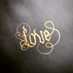 Love gold by Erik Gonzalez