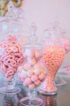 Mesa doces rosa