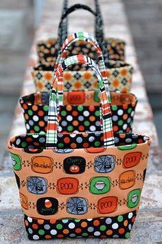 Mini Halloween Treat Bag