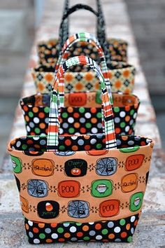Mini Halloween Treat Bag