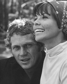 Mr. And Mrs. Steve McQueen
