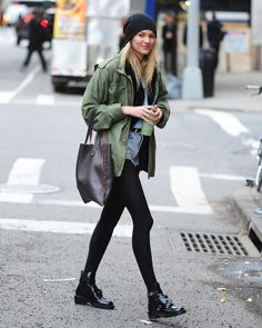 Looks celebrities invierno tendencias