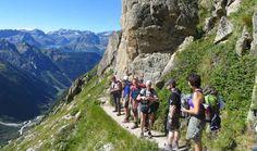 Mont Blanc rundt Merlot Reiser fottur i gruppe med turleder -