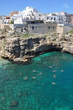 Puglia, Italy; must swim right here before i die! wonderful.