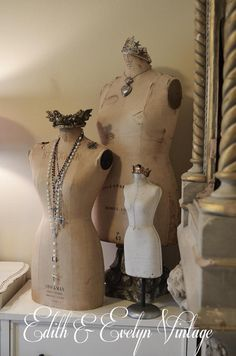 Vintage Half Scale Mannequin Sample Dress Form by edithandevelyn, $395.00