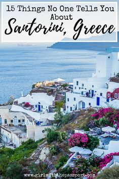 When you see pictures of Santorini Greece beaches and Santorini honeymoons, you see the picture perfect Santorini Greece photography of the sunsets in Oia. But is Santorini Greece travel really that wonderful? Find out here and discover what Santorini Greece is really like. Also, discover various tricks and tips to make the most out of your Santorini vacation. #greece #santorini #travel #wanderlust #europe