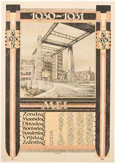 Mei (De Gistfabriek te Delft) - Bernard Romein (1929)