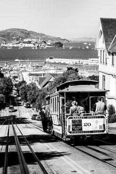 Powell St. (5) Calles de San Francisco / Streets of San Francisco.
